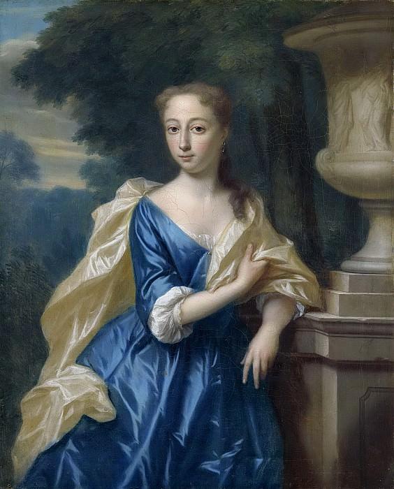 Dijk, Philip van -- Justina Johanna Ramskrammer (1702-98). Echtgenote van Isaac Parker, 1734. Rijksmuseum: part 2