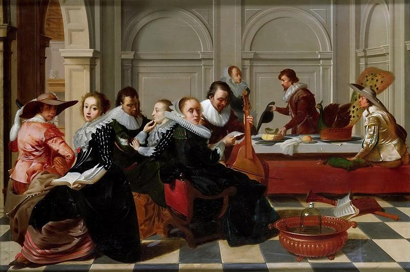 Duyster, Willem Cornelisz. -- De muziekpartij, 1700. Rijksmuseum: part 2