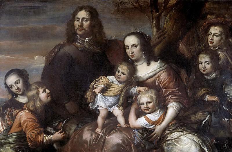 Ovens, Jürgen -- Een echtpaar met zes kinderen, 1650-1678. Rijksmuseum: part 2