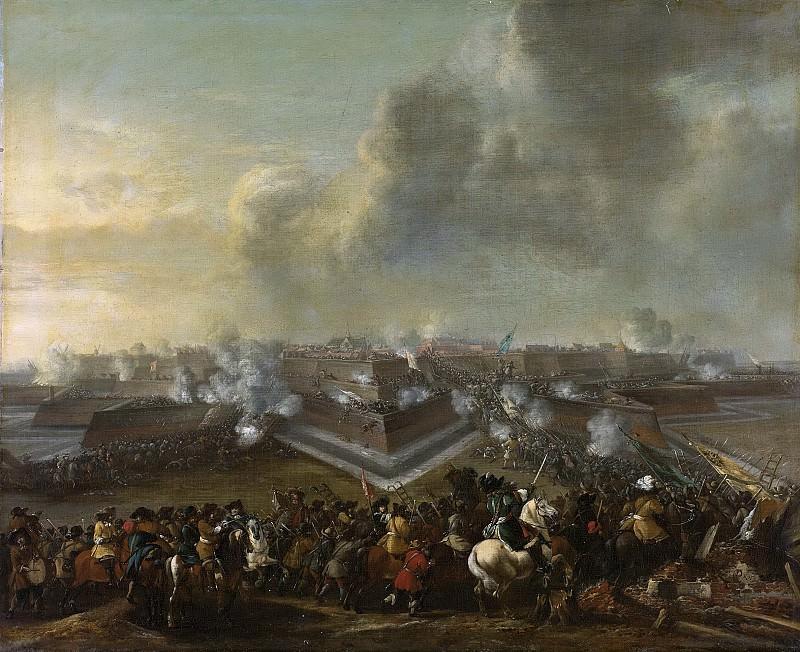 Wouwerman, Pieter -- De bestorming van Coevorden, 30 december 1672, 1672-1682. Rijksmuseum: part 2