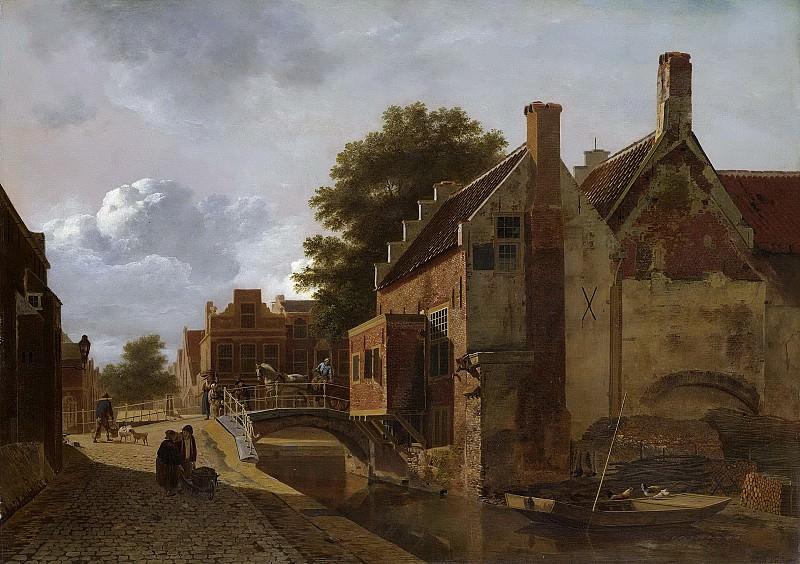 Valois, Jean François -- De Kalvermarkt te Den Haag, 1805-1808. Rijksmuseum: part 2
