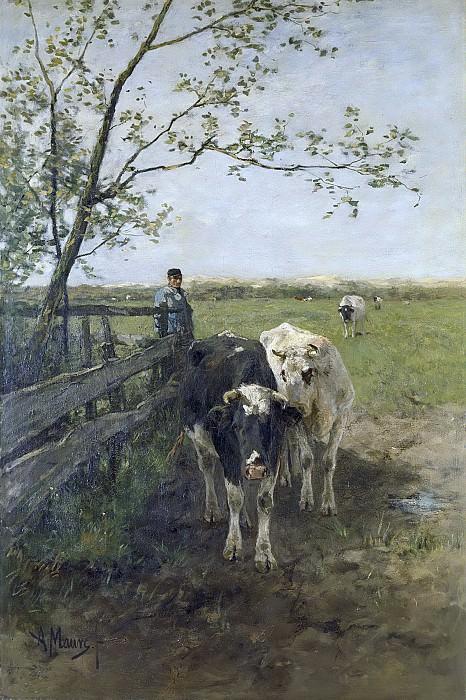 Mauve, Anton -- De melkbocht, 1870-1888. Rijksmuseum: part 2