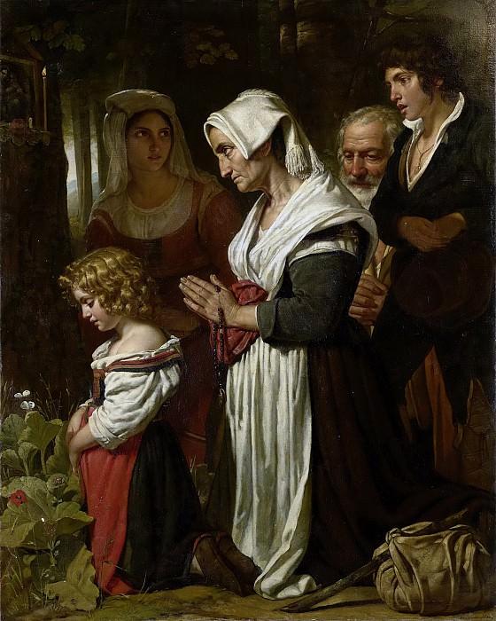 Kruseman, Cornelis -- Godsvrucht, 1823. Rijksmuseum: part 2