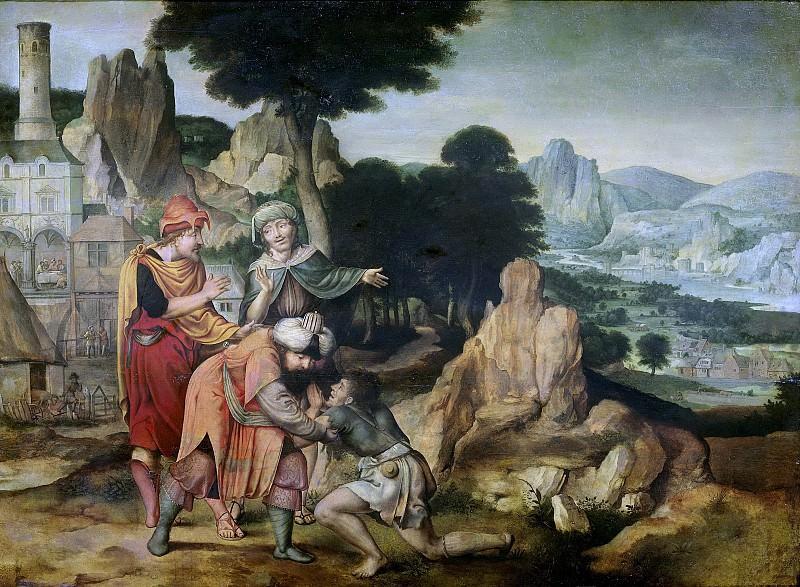 Корнелис Массейс -- Притча о блудном сыне, 1538. Рейксмузеум: часть 2