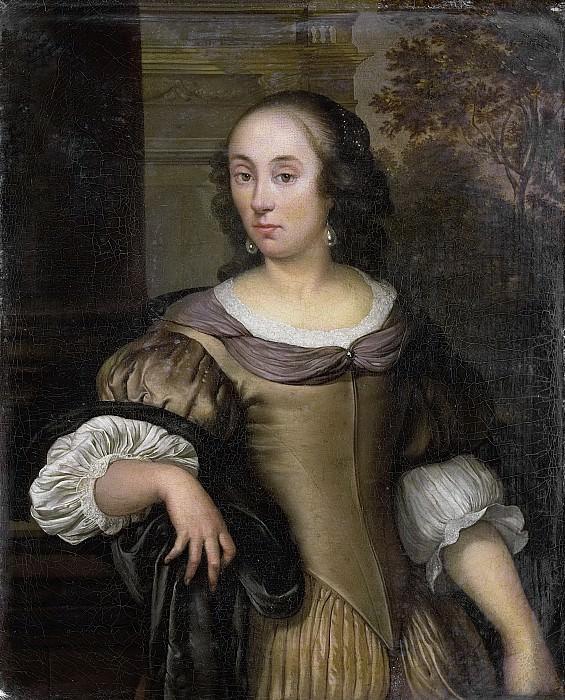 Neer, Eglon van der -- Portret van een jonge vrouw, 1650-1670. Rijksmuseum: part 2