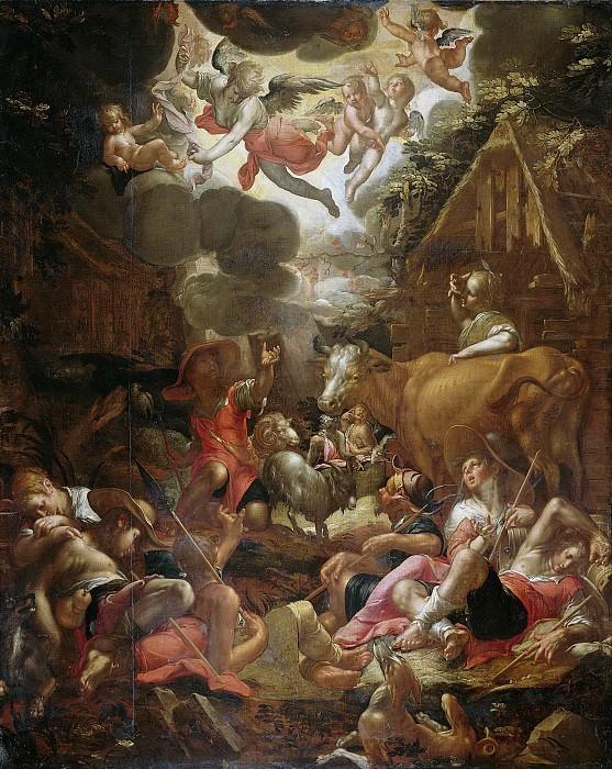 Wtewael, Joachim -- De verkondiging aan de herders, 1595-1603. Rijksmuseum: part 2