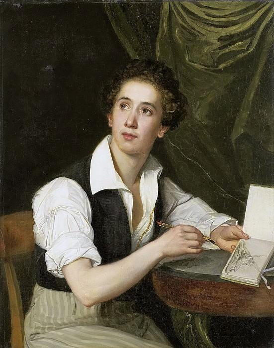 Saligo, Charles -- Zelfportret, 1824-1826. Rijksmuseum: part 2