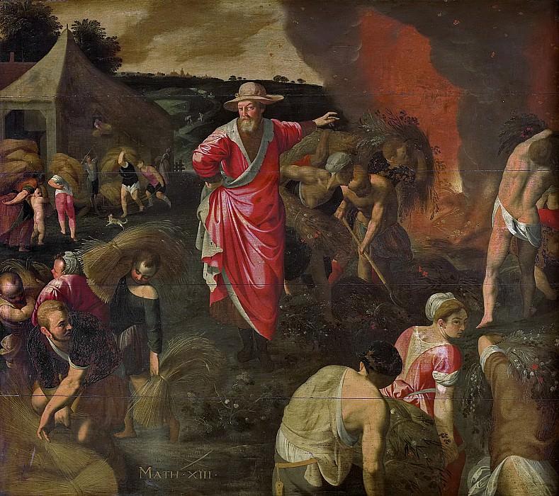 Swanenburg, Isaac Claesz. van -- De gelijkenis van het onkruid onder de tarwe, 1590-1610. Rijksmuseum: part 2