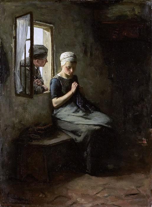 Альберт Неухёйс -- Влюблённый рыбак, 1880. Рейксмузеум: часть 2