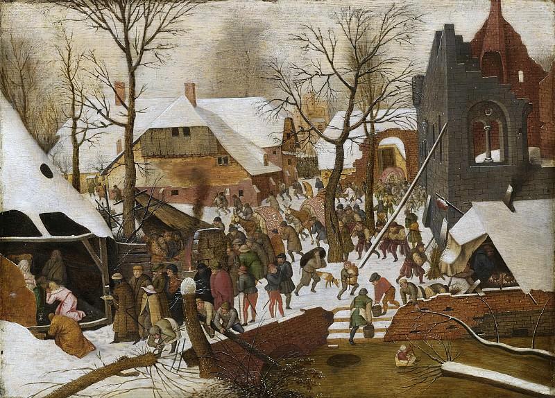 Brueghel, Pieter (II) -- De aanbidding der koningen, 1590-1638. Rijksmuseum: part 2
