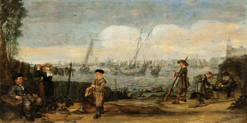 Арент Арентс -- Рыбаки и охотники, 1625-1631. Рейксмузеум: часть 2