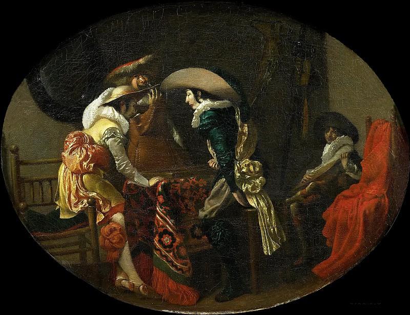Виллем Корнелис Дейстер -- Игроки в триктрак, 1625. Рейксмузеум: часть 2