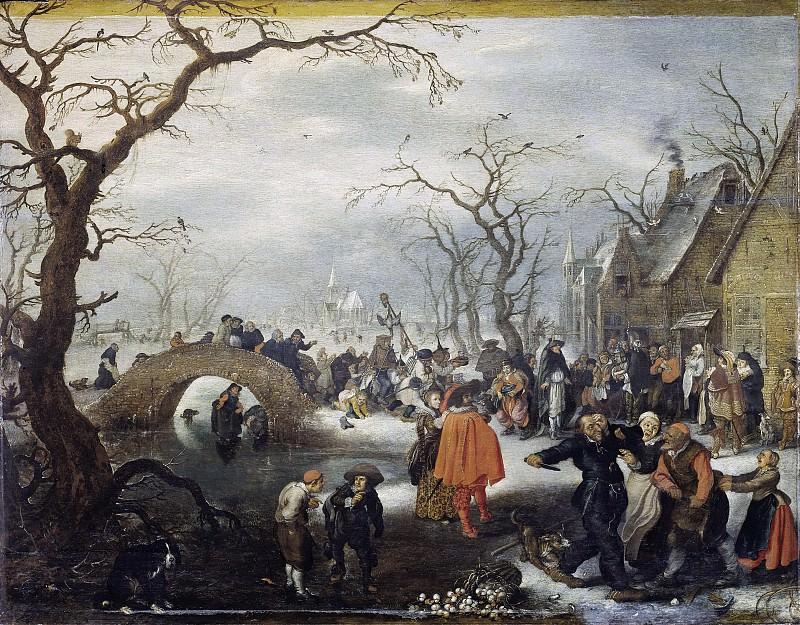 Venne, Adriaen Pietersz. van de -- Boerenvastenavond, 1625. Rijksmuseum: part 2