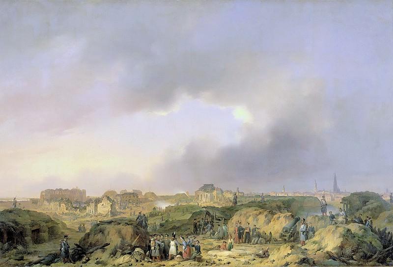 Фердинанд де Бракелер (I) -- Цитадель Антверпена вскоре после осады с 19 ноября по 23 декабря 1832 г. и прекращения оккупации Нидерландов французами, 1832-1839. Рейксмузеум: часть 2
