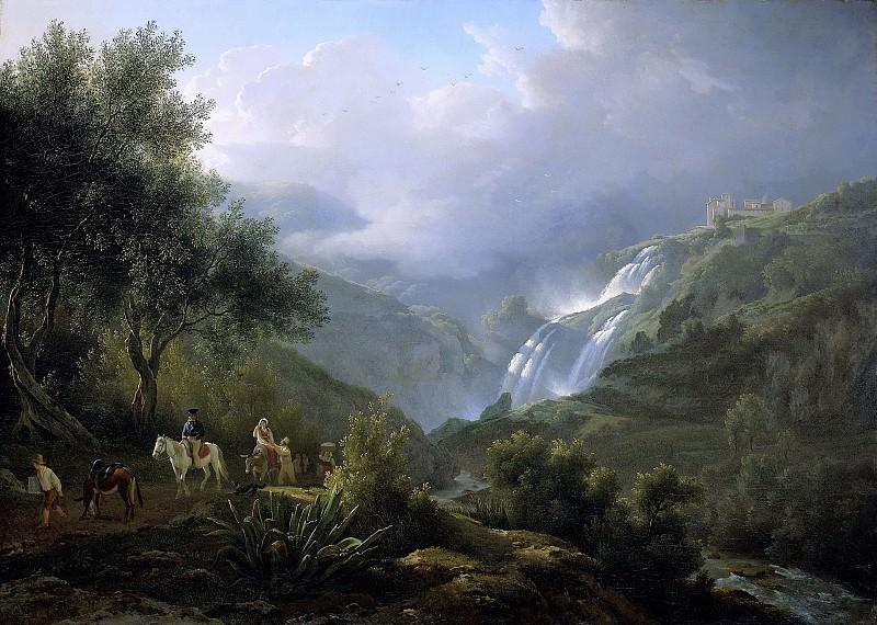 Teerlink, Abraham -- De Cascatelle bij Tivoli bij opkomend onweer, 1824. Rijksmuseum: part 2