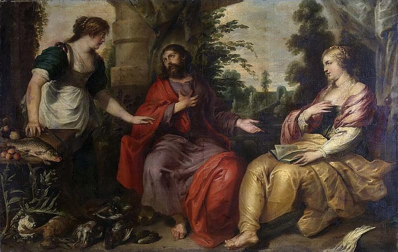 Винсент Адрианссен -- Христос у Марфы и Марии, 1623-1675. Рейксмузеум: часть 2