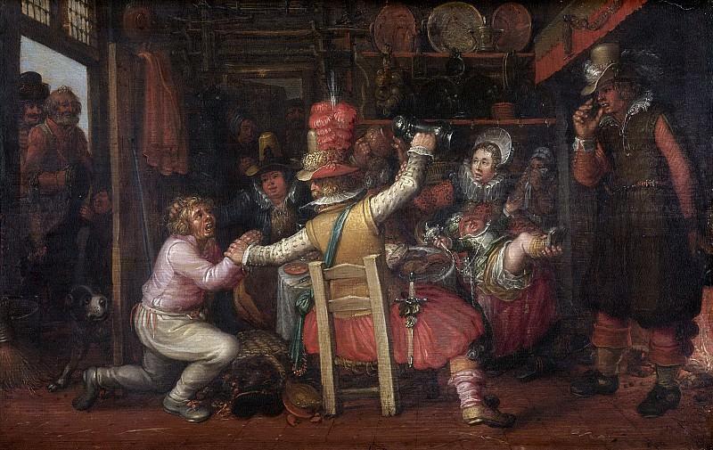 Vinckboons, David -- Boerenverdriet, 1619. Rijksmuseum: part 2