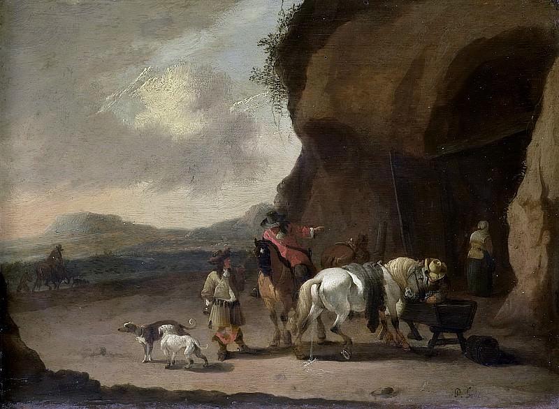 Bout, Pieter -- De halteplaats, 1670-1719. Rijksmuseum: part 2