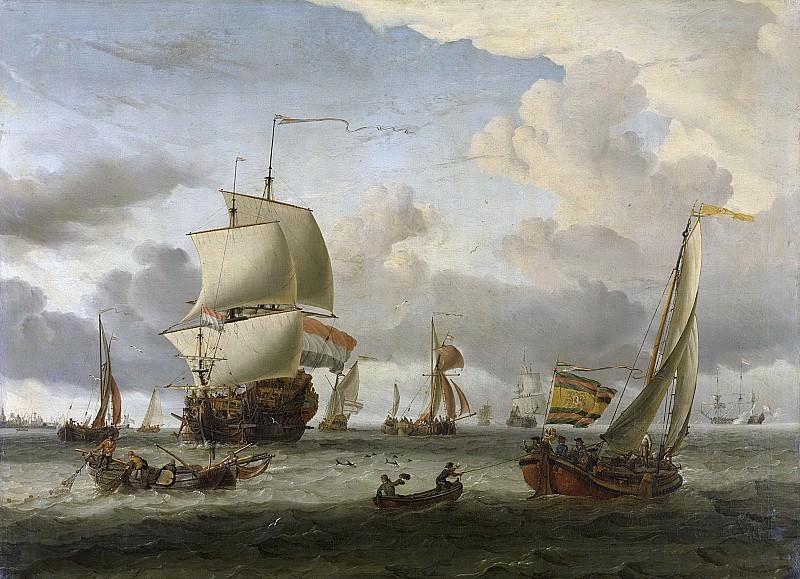 Storck, Abraham -- De rede van Enkhuizen, 1654-1708. Rijksmuseum: part 2