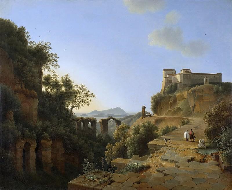 Knip, Josephus Augustus -- De golf van Napels met op de achtergrond het eiland Ischia, 1818. Rijksmuseum: part 2