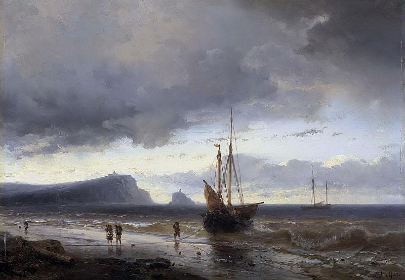 Луис Мейер -- Вдоль побережья, 1840-1850. Рейксмузеум: часть 2
