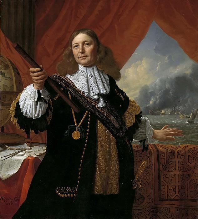 Бартоломеус ван дер Хельст -- Вице-адмирал Йохан де Лифде (ок.1619-73), 1668. Рейксмузеум: часть 2