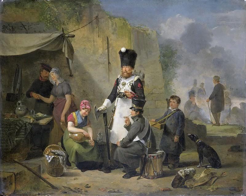 Govaerts, Anthonie Constantijn -- De marketentster, 1825-1827. Rijksmuseum: part 2