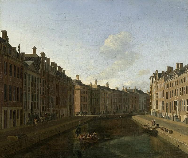 Berckheyde, Gerrit Adriaensz. -- De bocht van de Herengracht te Amsterdam, 1685. Rijksmuseum: part 2