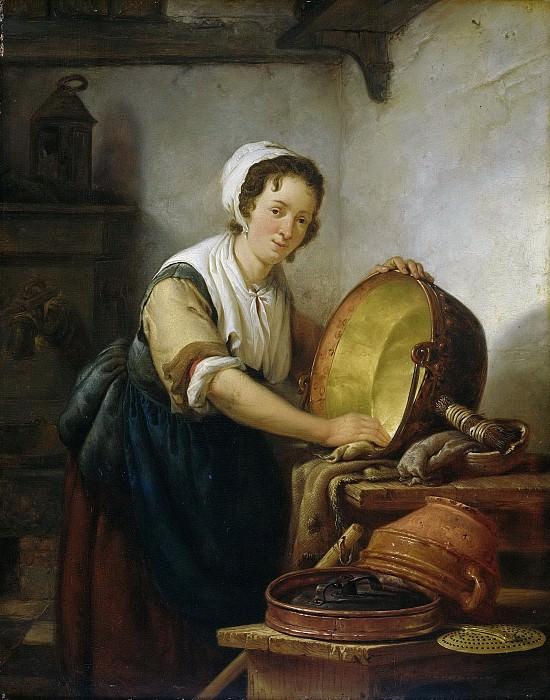 Strij, Abraham van (I) -- De ketelschuurster, 1808-1810. Rijksmuseum: part 2
