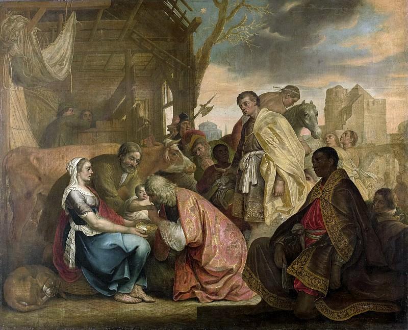 Schooten, Joris van -- De aanbidding der koningen, 1646. Rijksmuseum: part 2