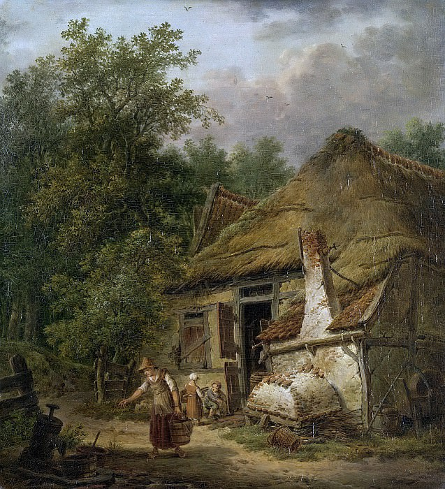 Barbiers, Pieter Pietersz. -- Landhoeve bij Helvoirt., 1814-1816. Rijksmuseum: part 2