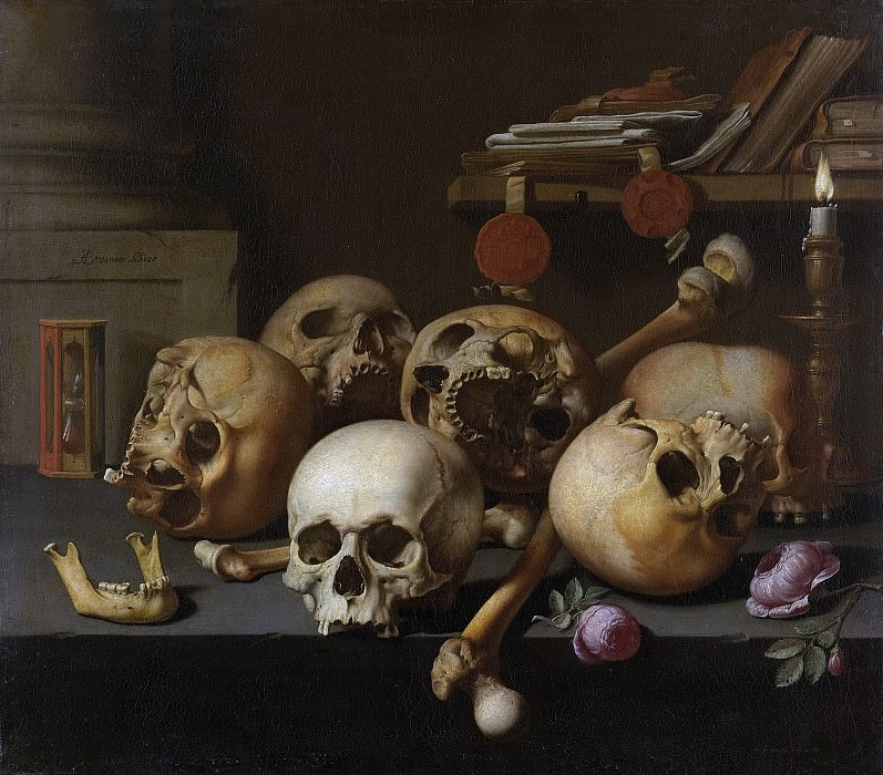 Schoor, Aelbert Jansz. van der -- Vanitas stilleven, 1640-1672. Rijksmuseum: part 2