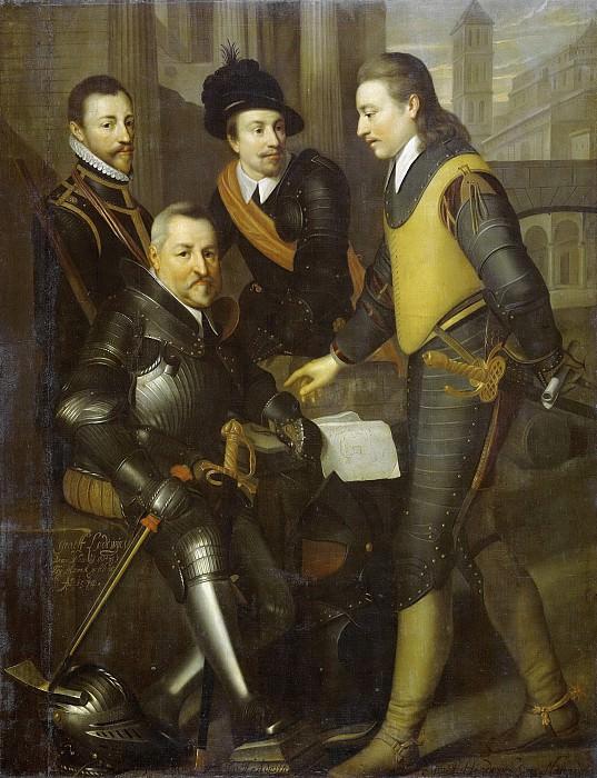 Geest, Wybrand de -- Groepsportret van de vier broers van Willem I, 1630. Rijksmuseum: part 2