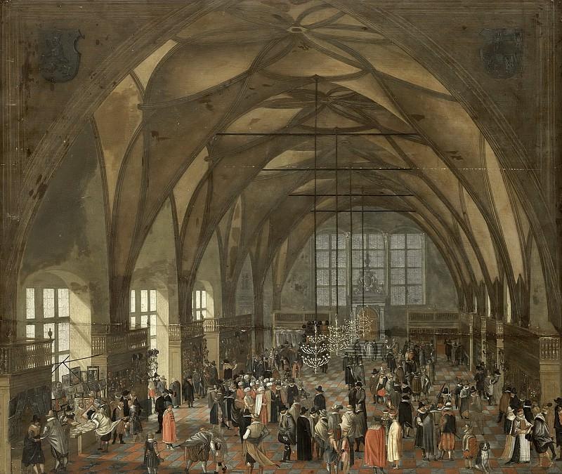 Unknown artist -- De grote zaal in het Hradschin te Praag, 1607-1615. Rijksmuseum: part 2