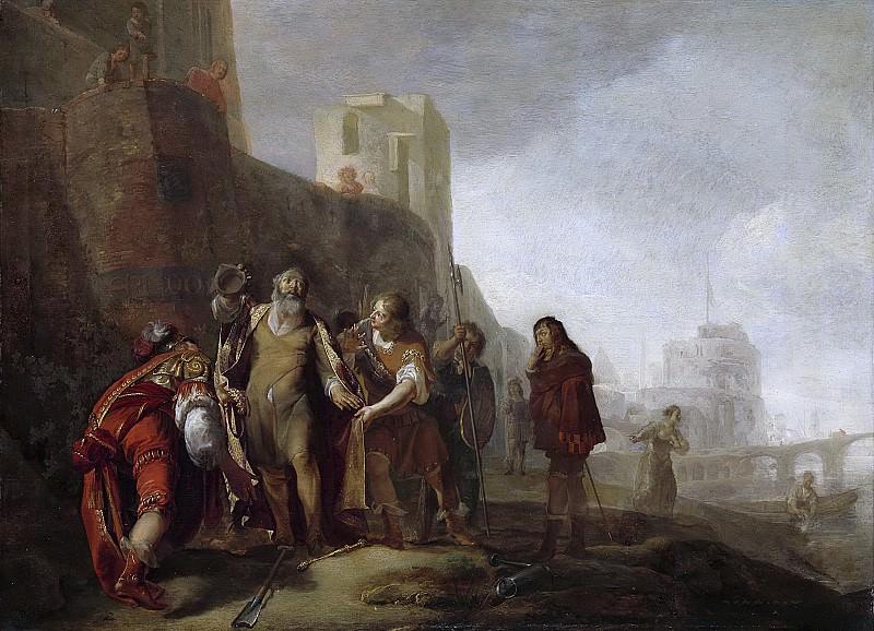 Николас Кнюпфер -- Абдалонимус из Сидона, посланец Александра Великого, занимающий должность садовника с нагрудным знаком царского доверия, 1630-49. Рейксмузеум: часть 2