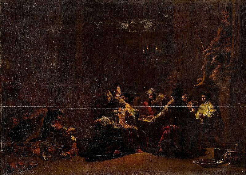 Bramer, Leonaert -- Pashur slaat Jeremia in de tempel, 1648. Rijksmuseum: part 2
