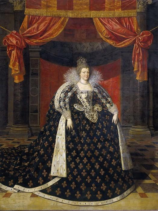 Pourbus, Frans (II) -- Maria de' Medici (1573-1642). Echtgenote van Hendrik IV, koning van Frankrijk, 1590-1620. Rijksmuseum: part 2