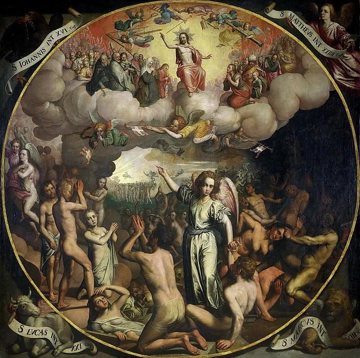 Арт, Питерс -- Страшный суд, 1611. Рейксмузеум: часть 2