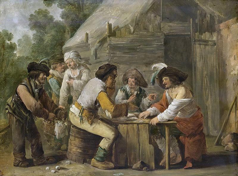 Both, Andries -- De kaartspelers., 1623-1641. Rijksmuseum: part 2