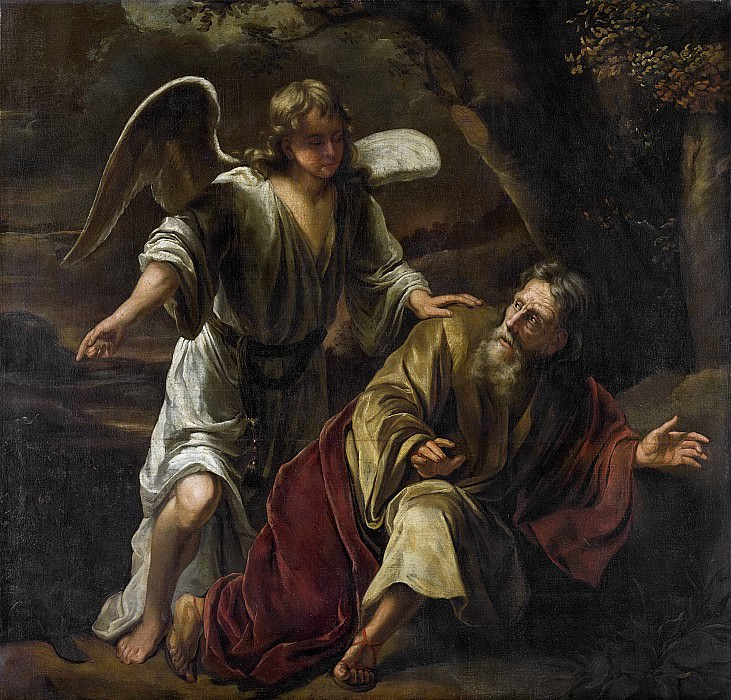 Фердинанд Боль -- Сцена из Библии, 1645-1669. Рейксмузеум: часть 2