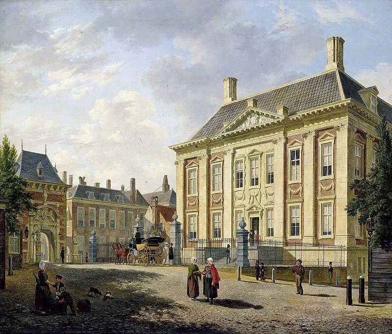 Бартоломеус Йоханнес ван Хове -- Маурицхёйс в Гааге, 1825. Рейксмузеум: часть 2