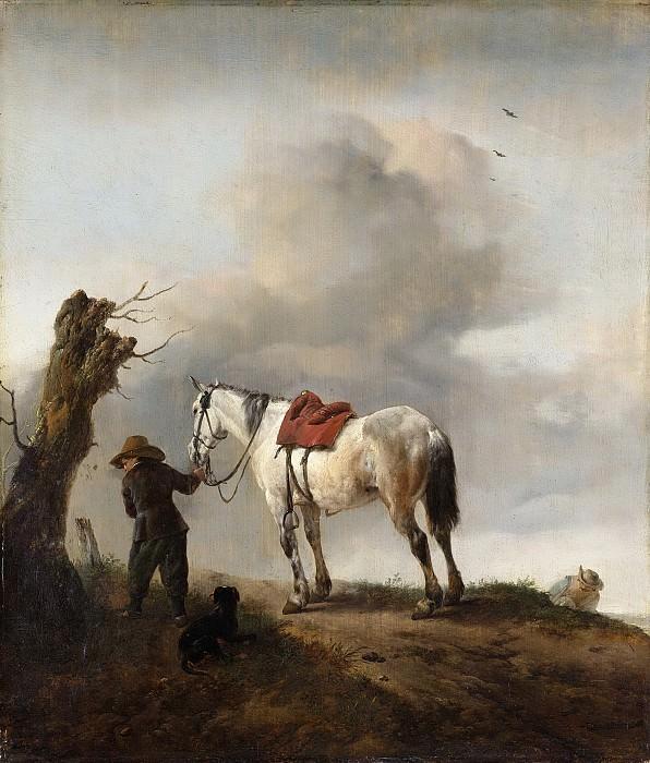 Wouwerman, Philips -- De schimmel, 1645-1647. Rijksmuseum: part 2