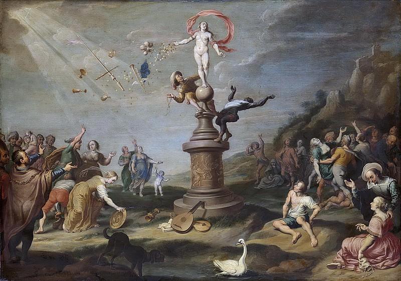 Корнелис де Баллиур (I) -- Фортуна, раздающая свои подарки, 1617-1671. Рейксмузеум: часть 2
