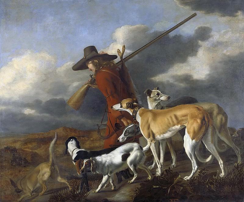 Адриан Корнелис Бельдемакер -- Охотник, 1653. Рейксмузеум: часть 2