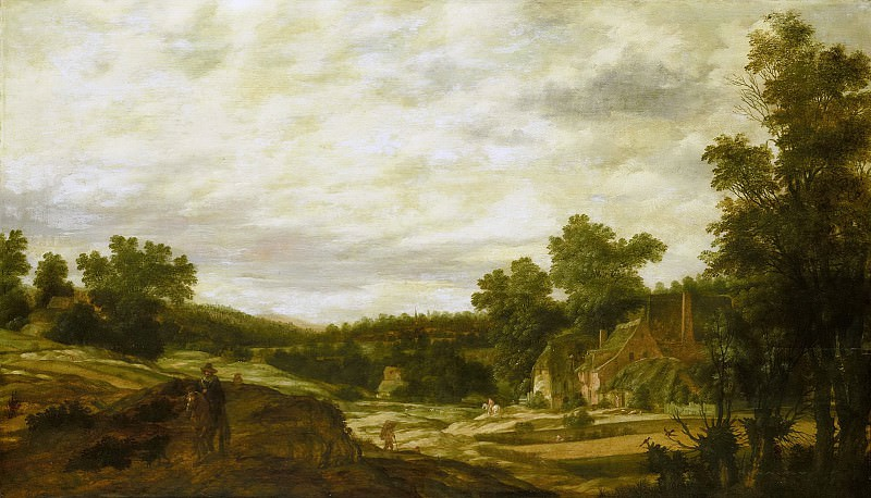 Питер Сталпарт -- Холмистая местность, 1635. Рейксмузеум: часть 2