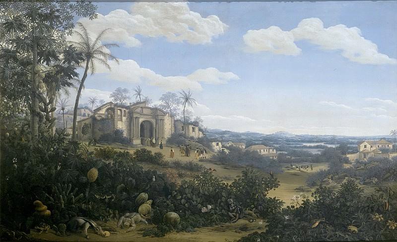 Post, Frans Jansz. -- Gezicht op Olinda, Brazilië, 1662. Rijksmuseum: part 2