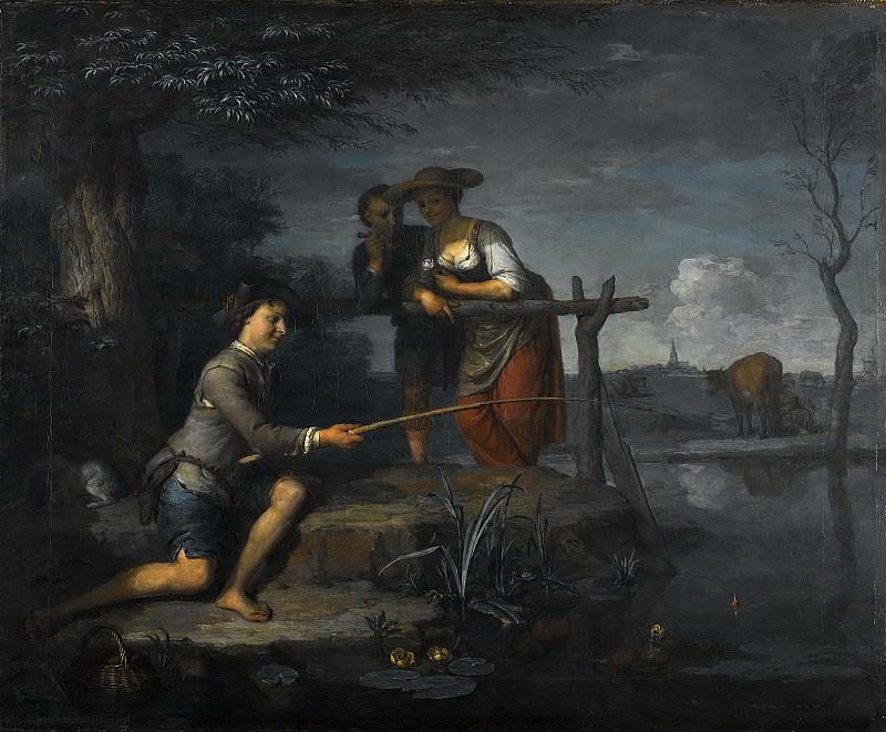 Moor, Carel de (II) -- De hengelaar, 1700-1738. Rijksmuseum: part 2