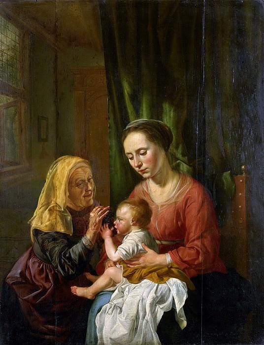 Hoogstraten, Dirk van -- Maria met kind en de heilige Anna, 1630. Rijksmuseum: part 2