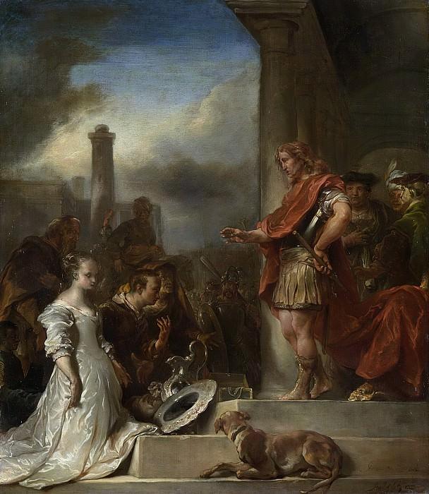 Ян ван Ноордт (1623-1676) -- Ведикодушие Сципиона, 1672. Рейксмузеум: часть 2