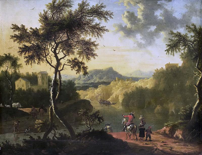 Graef, Timotheus de -- Italiaans landschap, 1682-1718. Rijksmuseum: part 2